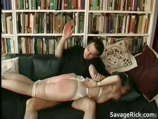 kinky woman is porn slave into weird bondage part5