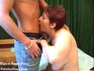 cougar and young guy