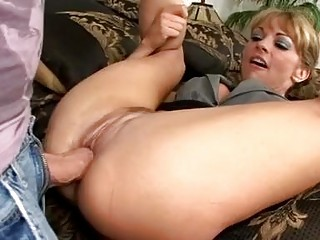 beautiful bleached woman with extremely
