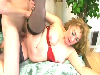 sexy obese elderly inside scene