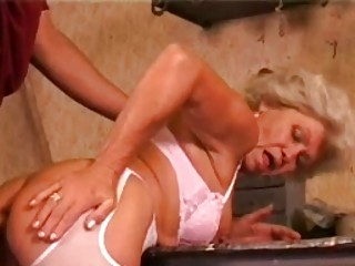 young old obtaining her anal rammed