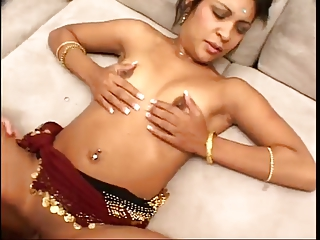 drilling his sweet indian lady !