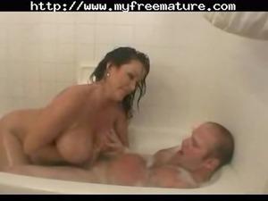 into the shower cougar mature porn granny granny