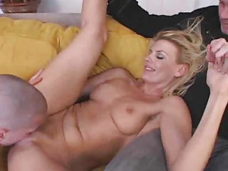 extremely impressive woman gangbanged when hubby