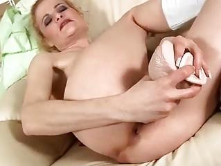 cougar albino copulates plastic cock