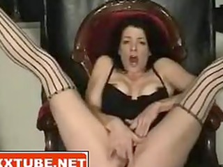 brunette woman squirts pussy juice