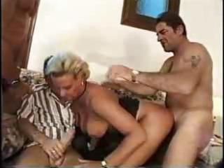 horny blond woman fuck
