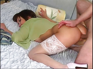neighbor lady bottom sperm