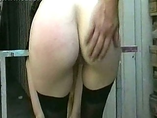 lady slave with huge breast acquires nude and