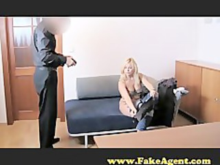 fakeagent clueless lady does bottom