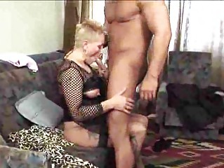awesome granny older  milfs licks cock