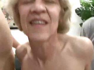 albino old into three people