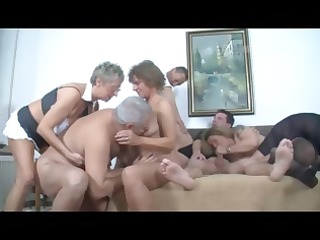 german older  swingers fuck celebration