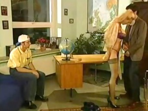 sibylle rauch- german coach fucked by