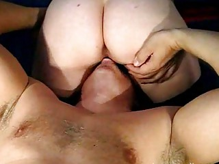 older  pair cumshots eating