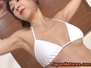 cougar maki miyashita riding a large