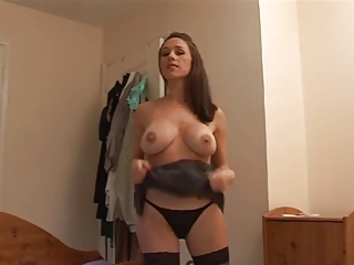 angry milf gives her lover a harsh handjob