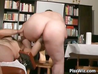busty older  chicks piss and obtains wet part4