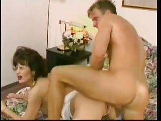 german woman into ashen nylons