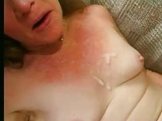 wrinkly old likes 4 penises and lots of sperm